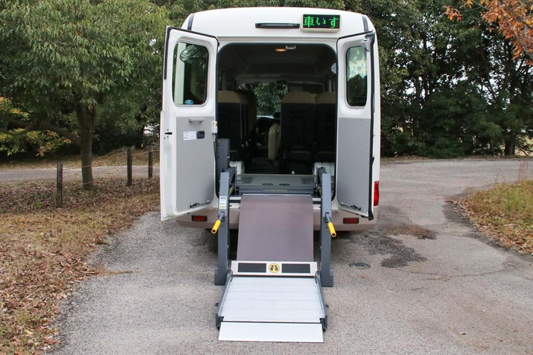 Photo of Wheelchair accessible bus
